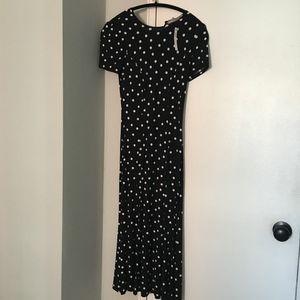 7888859754f ASOS Petite Dresses - ASOS PETITE City Maxi Tea Dress In Polka Dot Print